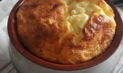 Сырный пудинг в горшочке «Колобок».