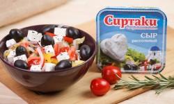 Описание и характеристики сыра сиртаки
