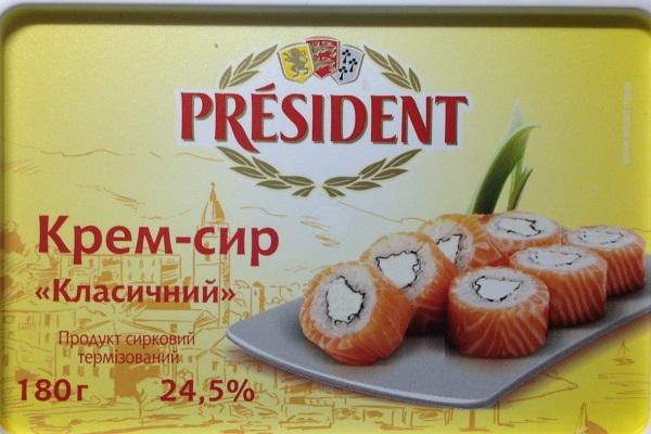 Президент Cream Cheese «Классический»